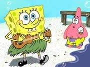 Puzzle s obrázkem Sponge Boba hra online