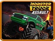 Závod monster trucků hra online