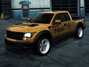 Taxi puzzle hra online