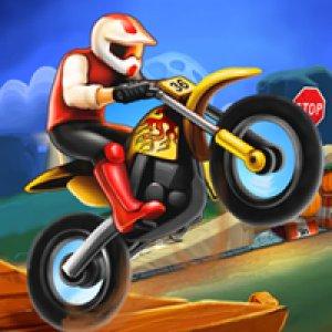 Kaskadéři na motorkách hra online