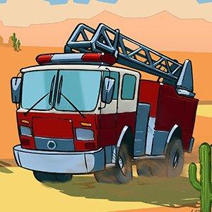 Westernoví hasiči hra online