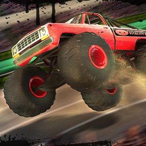 Závody monster trucků Nitro stadion hra online