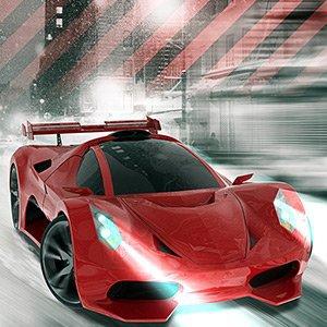 Šampion závodu V8 hra online