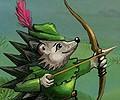 Ježek jako Robin Hood hra online