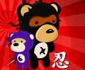 Ninja Medvědi hra online