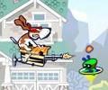 Pes Spunky a mimozemšťané hra online