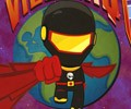 Super Karate Střelec hra online