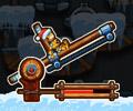 Vánoční kanónový střelec hra online