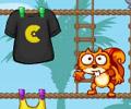 Praštěná veverka hra online