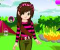Emo Dívka na táboře hra online