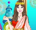 Obleč krásnou Řekyni hra online