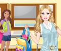 Školačka parádnice hra online