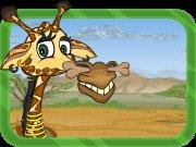 Žirafí hrdina hra online