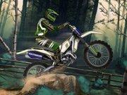 Motokros v lese hra online