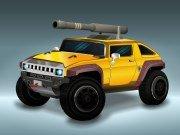 Raketové auto Hummer hra online
