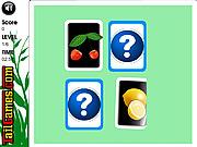Ovocné pexeso hra online