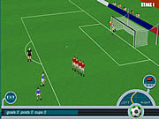 Roby Baggio hraje fotbal hra online