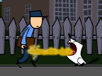 Plamenné štěně hra online