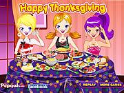 Večere na den díkůvzdání hra online