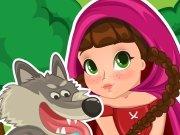 Dobrodružství červené karkulky hra online