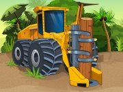 Pralesní dřevorubec hra online