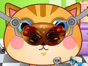 Kočičí doktor hra online