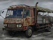 Najdi 5 rozdílů - apokalyptické trucky hra online