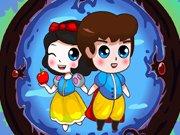 Okouzlující princ a kouzelné zrcadlo hra online