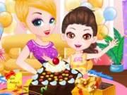 Čokoládový dort na den matek hra online