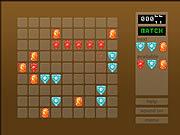 Skládej pětice mini hra online