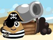 Střela piráta Poua hra online
