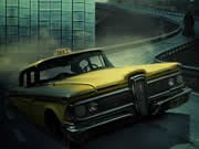 Skládačka s taxíkem hra online