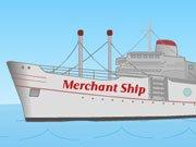 Obchodní loď hra online