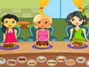 Dívčí jídelna hra online