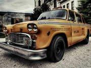 Skládačka se starým taxíkem hra online