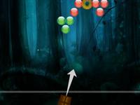 Střílení bublin v novém kabátě hra online