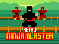 Retro Ninja,specialista na výbusšniny hra online