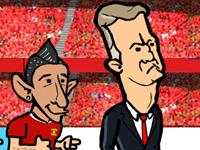 Nákup fotbalistů s Van Gaal hra online