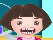 Dora u zubaře hra online