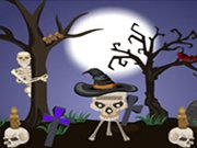 Útěk na Halloween 2 hra online