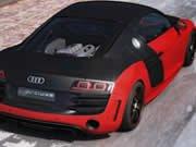 Audi R8 rozdíli hra online