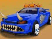 Nastroj si auto v Halloween stylu hra online