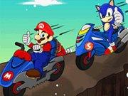 Mario na motorce hra online