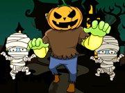 Šílený běh na Halloween hra online
