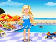 Makeover u bazénu hra online