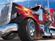 Skládačka s americkým truckem hra online