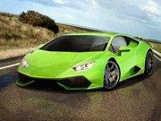 Zaparkuj zelený dvanáctiválec hra online