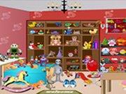 Schované předměty v dětském pokojíku hra online