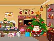 Schované předměty v domě na Vánoce hra online