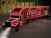 Coca Cola náklaďák puzzle hra online